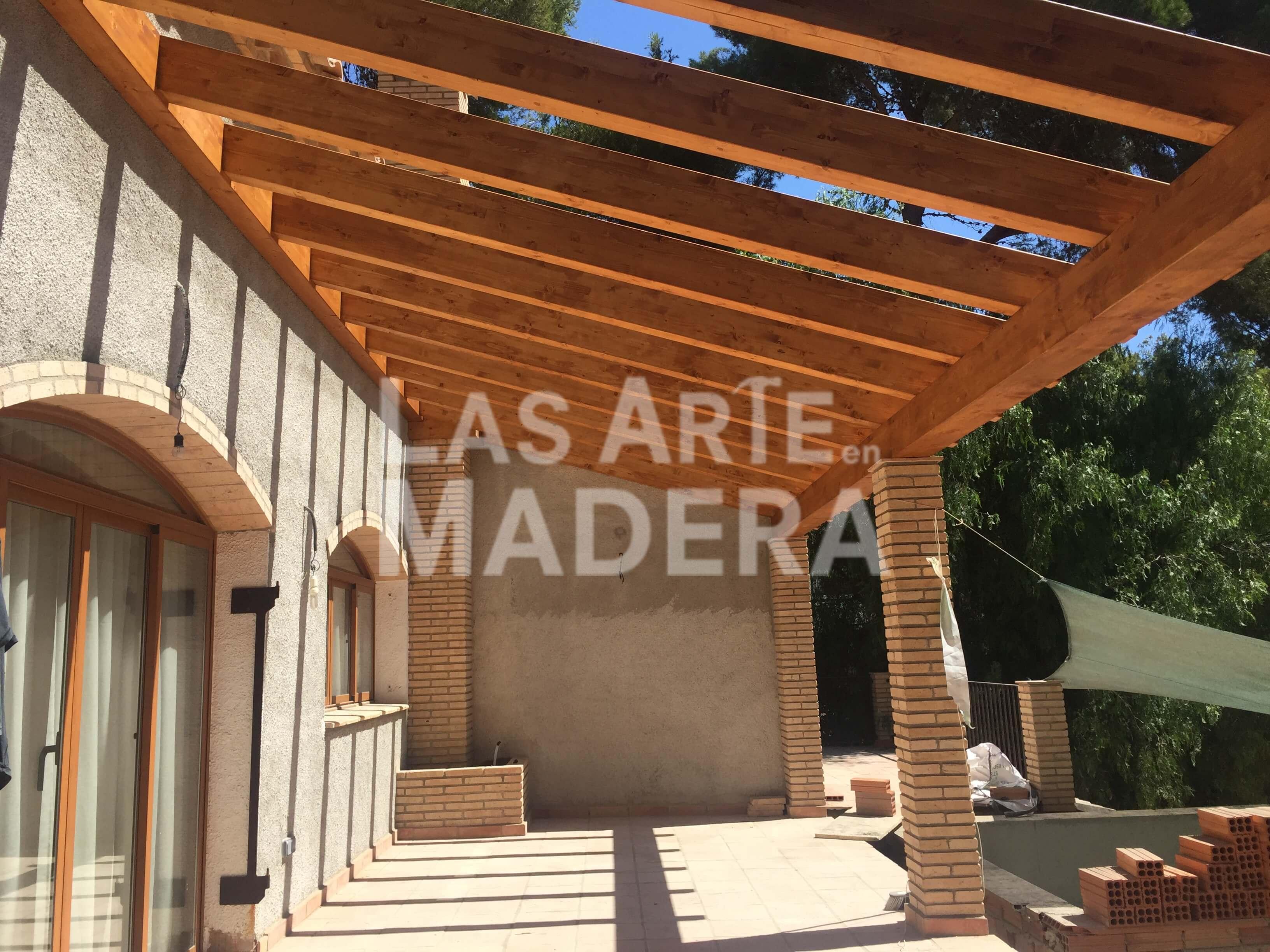 Pergolas para terrazas precios trendy porche cerrado with - Terrazas de madera precios ...